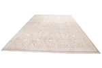 14x9 wool persian rug with silk highlights