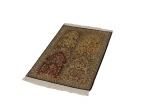 3x2 tile design silk kashmir persian carpet