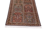 10x2 tile design kashmir silk rug runner