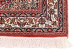 10x3 red handmade kashmir silk rug runner