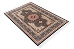 4x3 silk handmade qum carpet