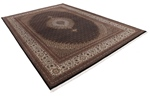 12x8 wool persian rug with silk highlights