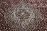 12x9 wool persian rug with silk highlights
