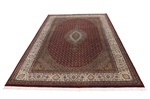 8x6 wool persian rug with silk highlights