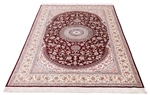 6x4 silk 500kpsi qum persian carpet
