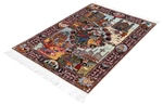 4x3 pictorial 4season tabriz persian rug