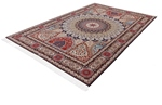 9x6 gonbad tabriz rug with signature
