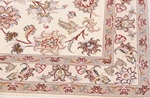 5x3 tabriz persian rug with silk