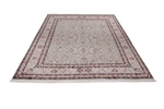 11x8 light colored silk kashmir persian rug