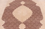 7x5 wool persian rug with silk highlights