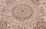 10x6 gonbad persian rug with silk