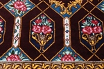 3x2 800kpsi genuine silk qum rug