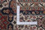 10by10foot square gonbad persian rug with silk