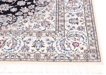 10x6 navy blue nain persian rug