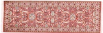 6x2 twin silk kashmir rugs runner