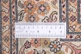 6x4 light kashmir silk handmade rug