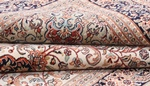 7x5 light color kashmir silk persian rug