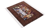 silk cinar turkish last supper rug