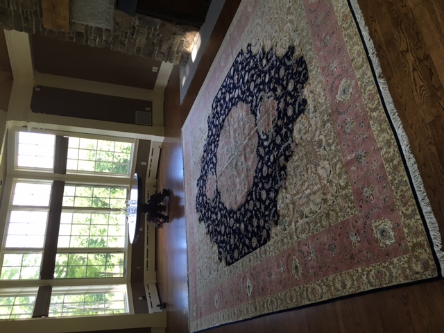 Persian rug client in Wisconsin USA