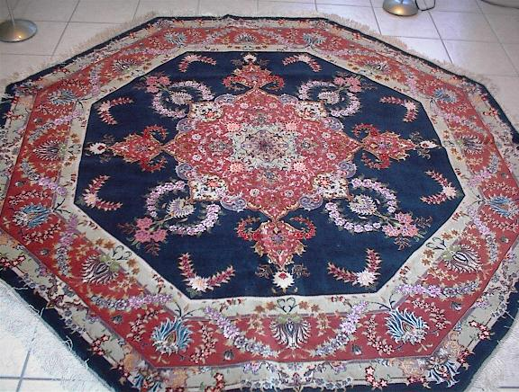 Persian rug client in California