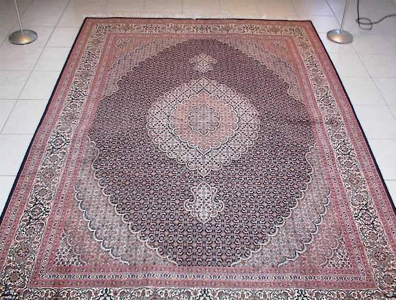 Large Mahi Tabriz Persian rug