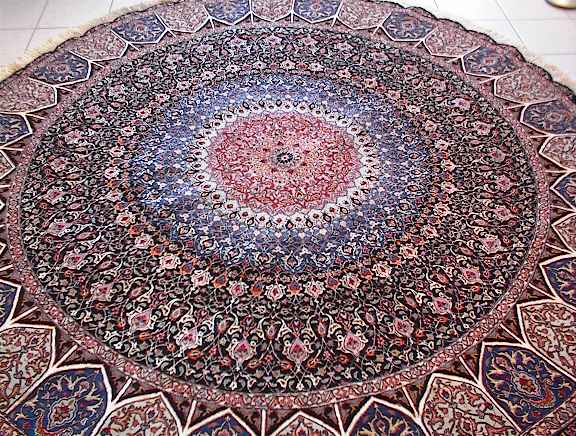 Persian rug client in Ohio