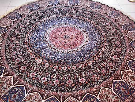 Persian rug client in Ohio