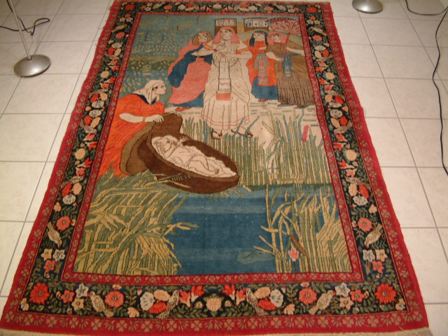 Keshan Persian rug #1190, click on the picture or description for more details about the Persian carpets.