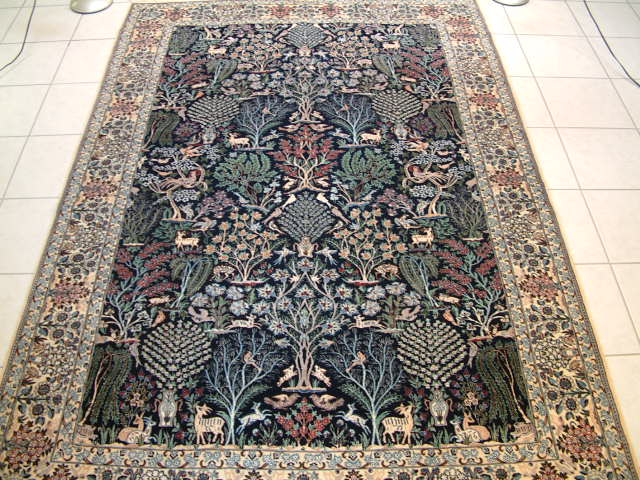Persian rug client in Georgia