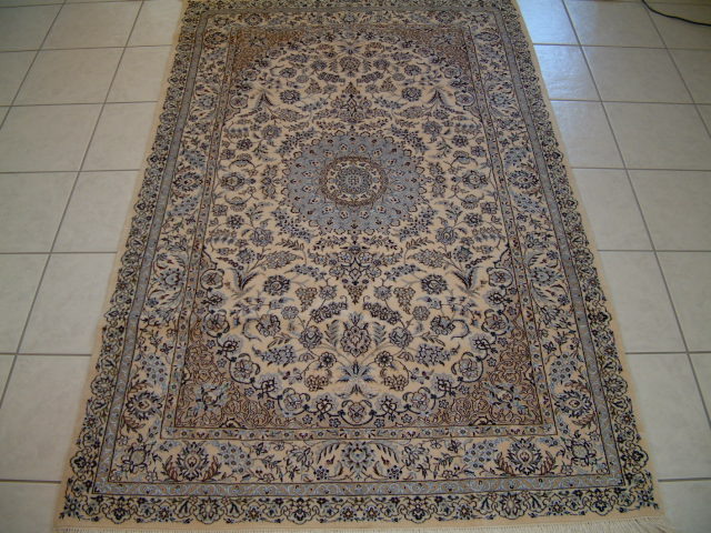 Nain Persian rug #1237, click on the picture or description for more details about the Persian carpets.