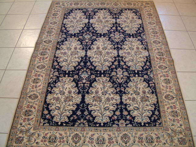 Nain Persian rug #1213, click on the picture or description for more details about the Persian carpets.