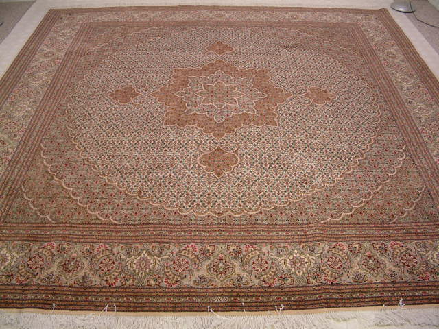 Tabriz Persian rug #1227, click on the picture or description for more details about the Persian carpets.