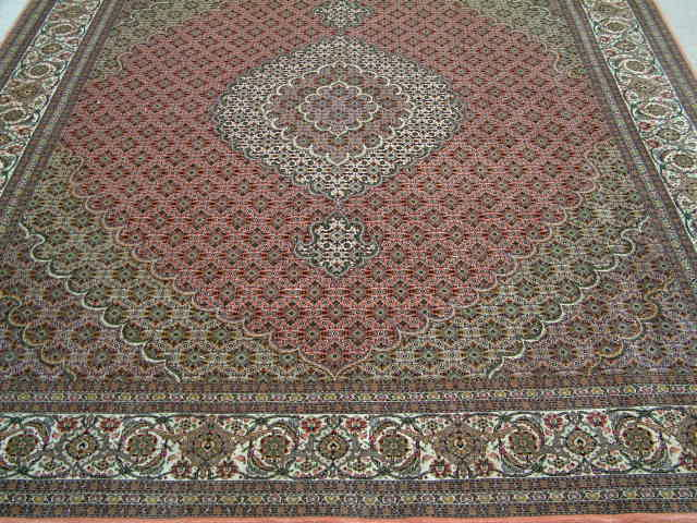 Tabriz Persian rug #1237, click on the picture or description for more details about the Persian carpets.
