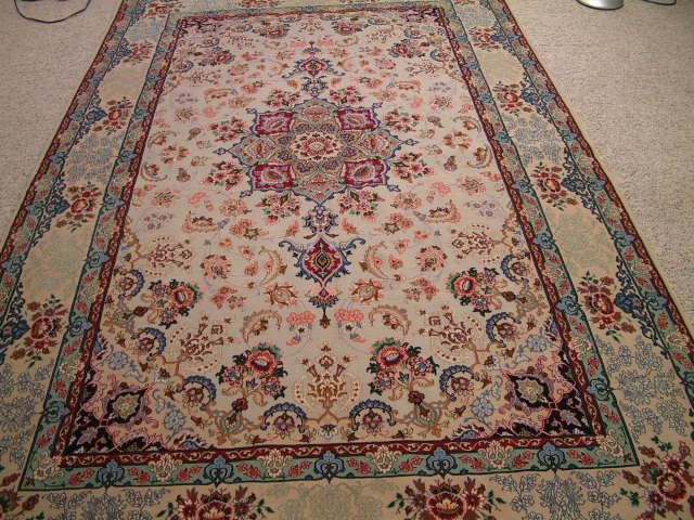 Isfahan Oriental rug #1238, click on the picture for more details about this Oriental rug and other oriental rugs.