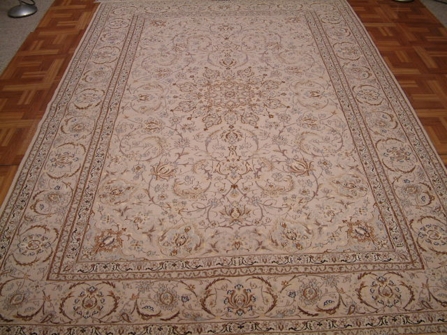 Isfahan Persian rug #1249, click on the picture or description for more details about the Persian carpets.