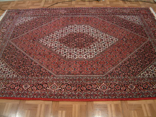 Bidjar Persian rug #1260, click on the picture or description for more details about the Persian carpets.