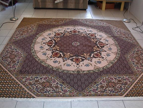 Persian rug client in Arizona