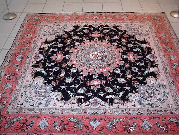 Persian rug client in Illinois