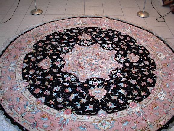 Persian rug client in New Jersey