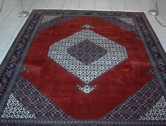 Large brown Tabriz Persian rug; All Persian Rugs are genuine handmade. Also, every Persian Tabriz rug I offer is made with fine kurkwool/silk.