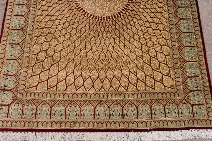 Qum Silk Carpet Ideas