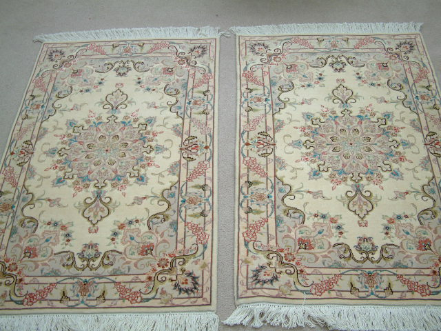 Tabriz Persian rug #3156, click on the picture or description for more details about the Persian carpets.