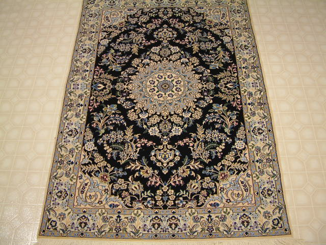 Nain Persian rug #3164, click on the picture or description for more details about the Persian carpets.