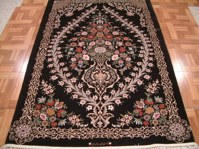 Isfahan Persian rug #3179, click on the picture or description for more details about this Persian rug and other Persian carpets in Sydney Australia.