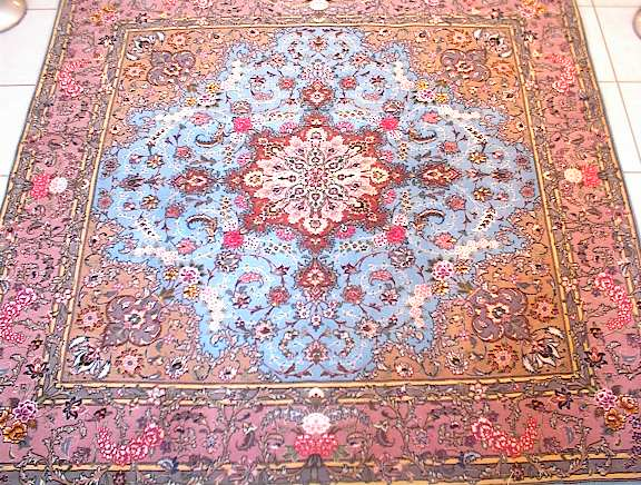 Persian rug client in New York