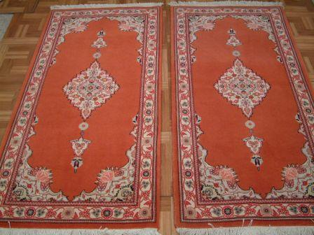Tabriz Persian rug #3187, click on the picture or description for more details about the Persian carpets.