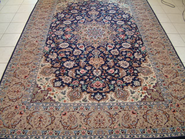 Isfahan Persian rug #5115, click on the picture or description for more details about the Persian carpets.