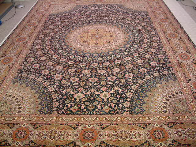 Tabriz Persian rugs #5126, click on the picture or description for more details about the Persian carpets.