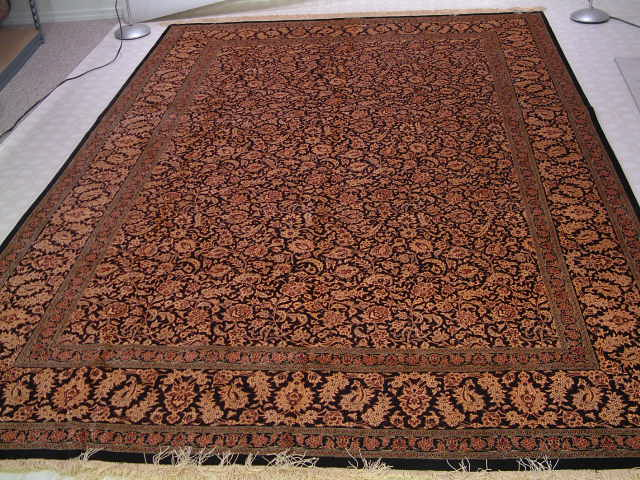 Qom Persian rug #5129, click on the picture or description for more details about the Persian carpets.