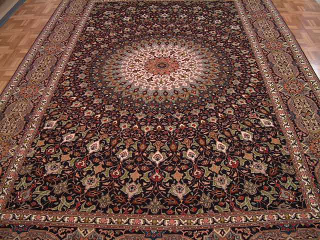 Tabriz Persian rug #5143, click on the picture or description for more details about the Persian carpets.